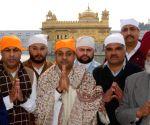 Sambit Patra visits Golden Temple