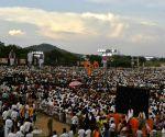 Mahabubnagar (Telangana): BJP public meeting - Amit Shah