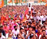 Himachal CM at a public rally