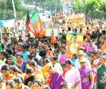 S M Krishna campaigns for Tejasvi Surya