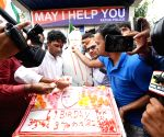 BJP workers celebrate PM Modi's birthday