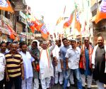 BJP demonstration against Aditya Sachdeva's death