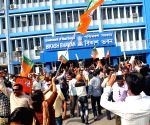 BJP's demonstration against WB Government