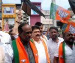 BJP leaders observe 'Bandh' in support of RTC employees, detained