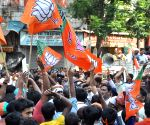 Police charge batons on BJP workers - Rahul Sinha