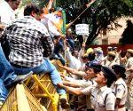 BJP workers' demonstration