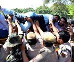 BJP Yuva Morcha demonstration