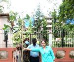 : Mumbai: BMC Asst Comm Vishvas Mote Brings Together Animal Activists Ayesha Jhulka and Anusha Srinivasan Iyer In Tree Plantation To Make Earth Green Again