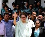 Dhaka (Bangladesh): Khaleda Zia arrives at Dhaka court