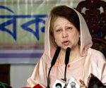 Dhaka (Bangladesh): Khaleda Zia during iftar party