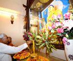 Bodh Gaya: Nitish Kumar during Buddha Purnima celebrations