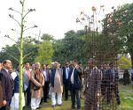 Bodh Gaya: Bihar CM visits Mahabodhi Temple