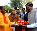 Bodh Gaya: Sri Lankan President visits Bodh Gaya