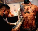 Bogota city (Colombia): 8th International Tattooists Convention
