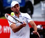 Bernard Tomic v/s Ivo Karlovic during Claro Open Colombia