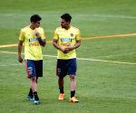 COLOMBIA BOGOTA WORLD CUP TRAINING