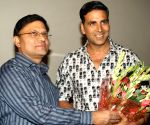 "Special screening of the his film ""Rowdy Rathore"" for Delhi Police."