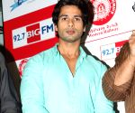 Shahid Kapoor at Big FM