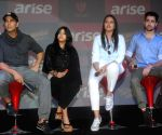 "A press conference for their film ""Once Upon A Time In Mumbai Dobaara"" in New Delhi"