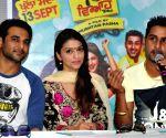 """Promotional event of upcoming Punjabi film """"Viyah 70km"""" at Amritsar"""