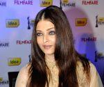 Aishwarya Rai Bachchan at the 58th Idea Filmfare Awards press conference
