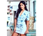 Katrina Kaif rocks in this faded denim dress