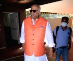 Bollywood film director Boney Kapoor spotted at the airport