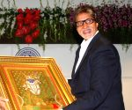 Bollywood megastar Amitabh Bachchan at the inauguration of Barfivalla Auditorium
