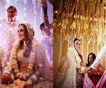 Free Photo: Bollywood showers love on newlyweds Varun and Natasha