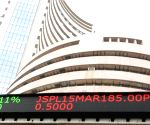 Sensex ends flat amid Sun Pharma woes, easing trade concerns