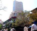 Sensex ends tad higher, IRCTC doubles gain on issue price