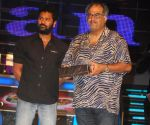 Boney Kapoor and Prabhu Deva at Dance India Dance Grand finale.