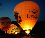 GERMANY-BONN-HOT AIR BALLON-NIGHT SHOW