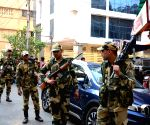 2019 Lok Sabha elections - BSF conducts route march