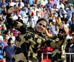 BSF soldiers perform