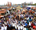 Karnataka Rig Owners Association's demonstration