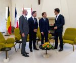 LUXEMBOURG BOURGLINSTER BENELUX FRANCE LEADERS MEETING