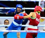 Second edition of India Open Boxing Tournament - Practice session - Sonia Chahal