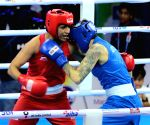 Second edition of India Open Boxing Tournament - Practice session - Simranjit Kaur