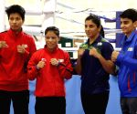 Second edition of India Open Boxing Tournament - Practice session