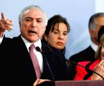 BRAZIL BRASILIA POLITICS MICHEL TEMER