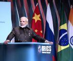 BRAZIL-BRASILIA-BRICS BUSINESS FORUM-CLOSING CEREMONY