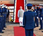 Modi arrives in Brasilia for BRICS summit, to meet Putin, Xi