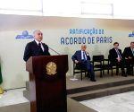 BRAZIL BRASILIA POLITICS EVENT