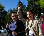 SLOVAKIA BRATISLAVA TEACHERS PROTEST