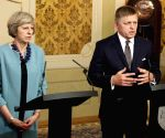 SLOVAKIA BRATISLAVA BRITAIN PM