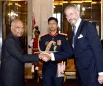 Brazilian Ambassador-designate presents his credentials to President Kovind