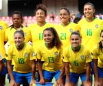 Brazil women's football team to play in China