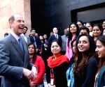 Prince Edward visits British Council