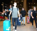 British Band -The Vamps arrive in Mumbai